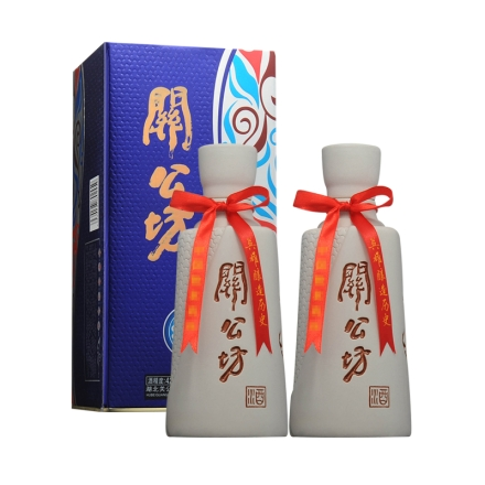 42°关公坊蓝韵 500ml(双瓶装)