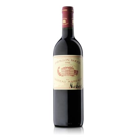 法国玛歌红亭红葡萄酒1992年750ml签名版
