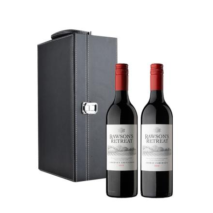 澳大利亚奔富洛神山庄干红葡萄酒双支礼盒装