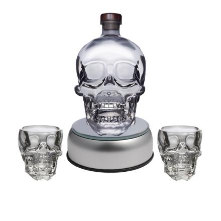 水晶头骨伏特加(Crystal Head Vodka限量极炫套装)