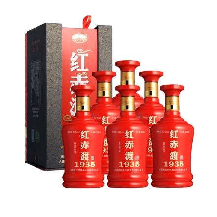 53°红赤渡1935酒500ml(6瓶装)