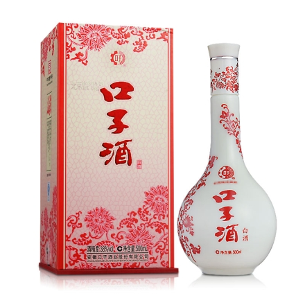 【清仓】38°口子酒(红花) 500ml