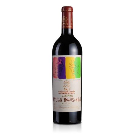 【清仓】法国酒庄木桐酒庄2001干红葡萄酒750ml