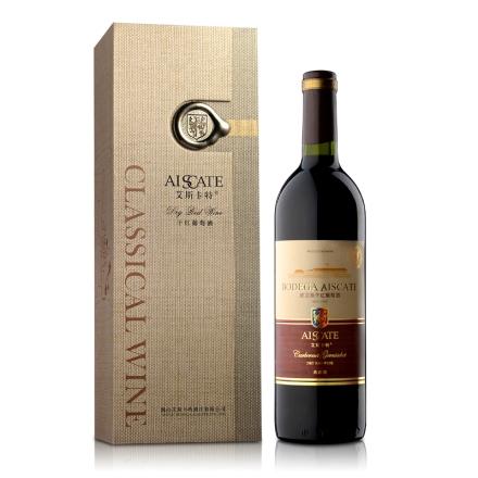 12°艾斯卡特蛇龙珠干红葡萄酒 典藏级 礼盒装750ml