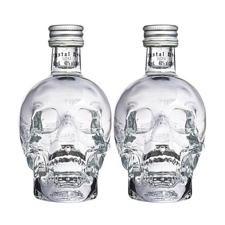 40°水晶头骨伏特加50ml(微时代)(双瓶装)