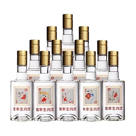 【清仓】52°藏羚羊十二生肖酒300ml*12