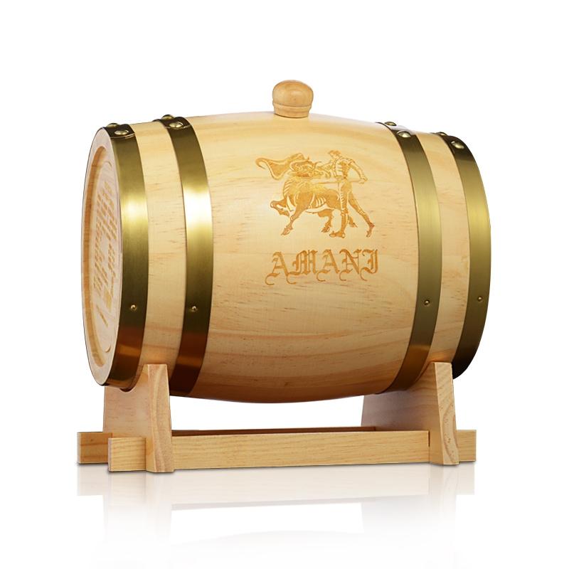 木桶装干红葡萄酒