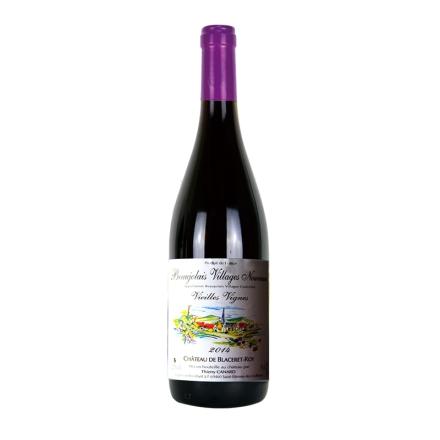 法国博若莱新酒 村庄级 老藤 七彩城堡干红葡萄酒750ml