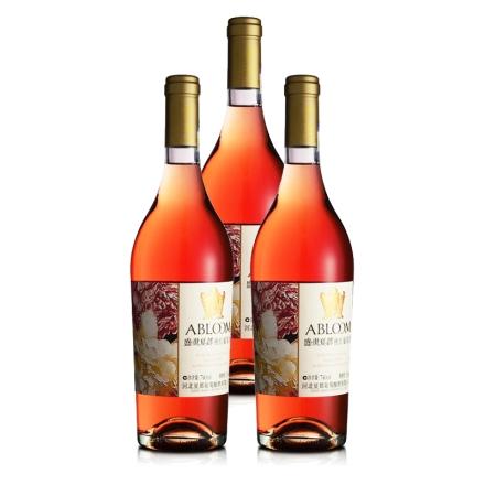 盛世夏都蝶恋桃红葡萄酒740ML(3瓶装)