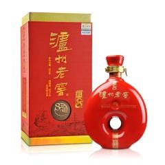 【老酒特卖】52°泸州老窖8年陈头曲红8 500ml(2012年)