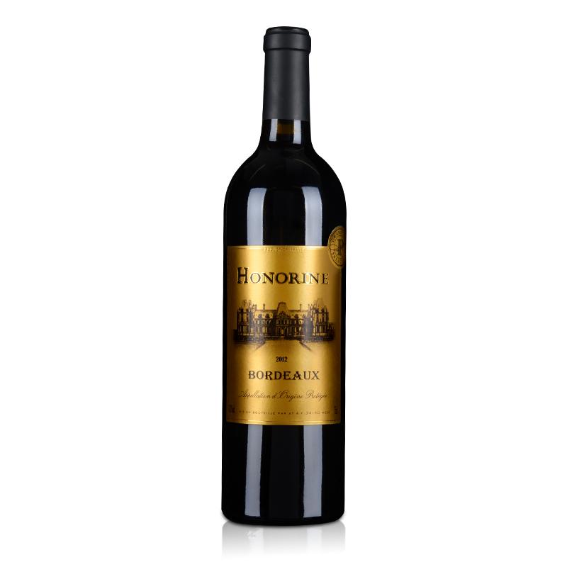 【清仓】法国卡松古堡波尔多干红葡萄酒750ml