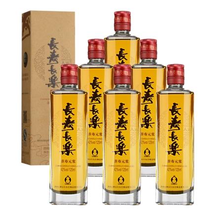 42°长寿长乐人元125ml(6瓶装)