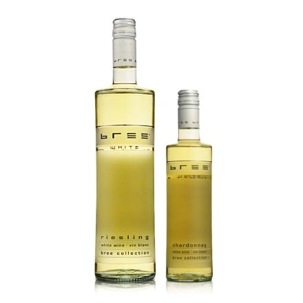 德国Bree雷司令半甜型白葡萄酒750ml+Bree霞多丽半甜型白葡萄酒250ml