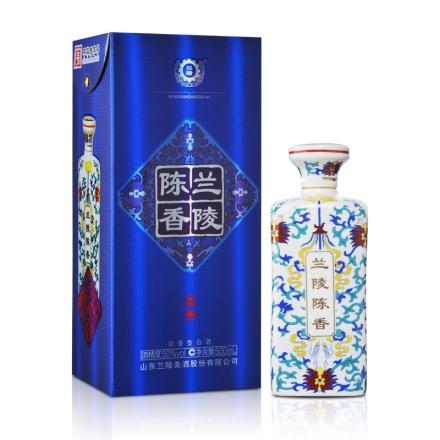 50°兰陵陈香蓝尊瓷瓶500ml