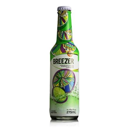 4.8°百加得冰锐假日瓶版-青柠味275ml
