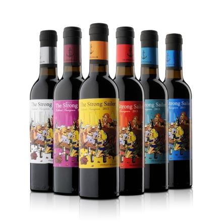 【清仓】12.5°澳洲詹姆士漂客水手2013赤霞珠干红葡萄酒750ml系列装