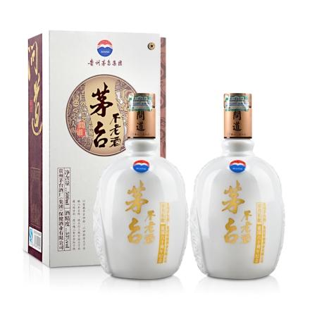 53°茅台不老酒(问道)500ml(双瓶装)