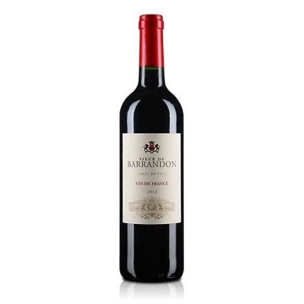 法国红酒巴兰顿先生红葡萄酒750ml