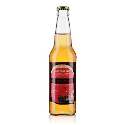 加拿大麦可欧牌苹果酒(蔓越莓味)355ml(乐享)