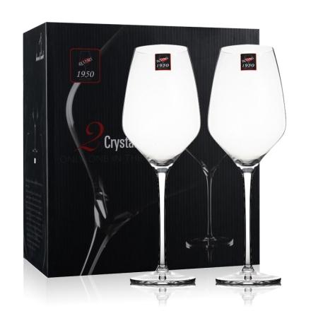 1950纯手工水晶酒杯 波尔多(中)553ml*2