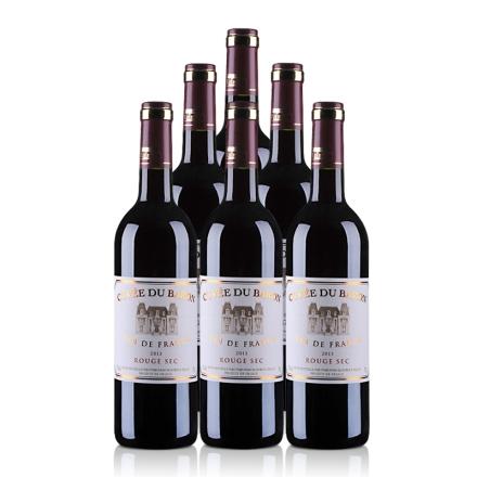 法国芭珑伯爵红葡萄酒750ml(6瓶装)