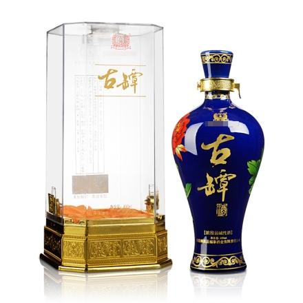 52°浓雅弱碱性酒(蓝)450ml