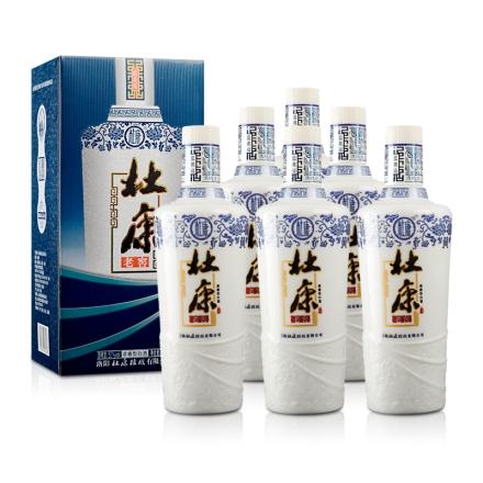 50°杜康老窖蓝花瓷500ml(6瓶装)