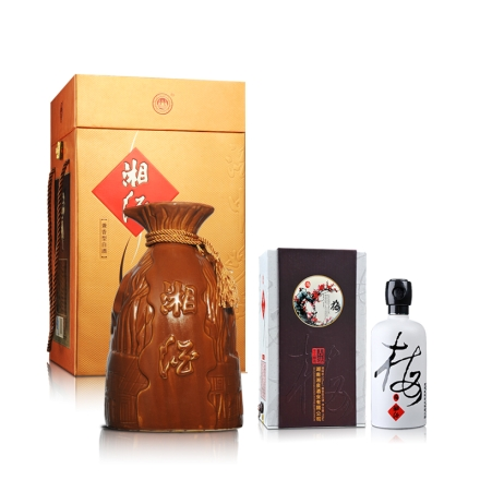60°湘泉大湘酒2500ml+52°湘泉四君子酒中妙品750ml(乐享)