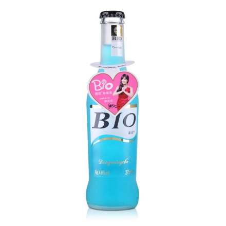 4°BIO蓝玫瑰味预调酒275ml