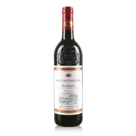 【清仓】法国波尔多AOC圣露威兰顿2010干红葡萄酒750ml