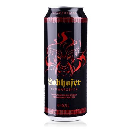 【清仓】德国欢伯瑞狮黑啤酒500ml