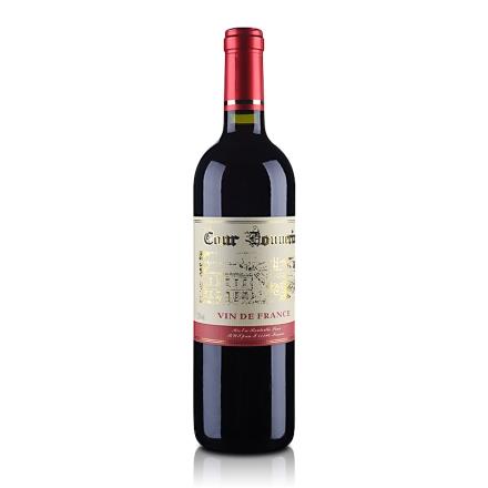 【清仓】法国勃朗宁古堡干红葡萄酒750ml