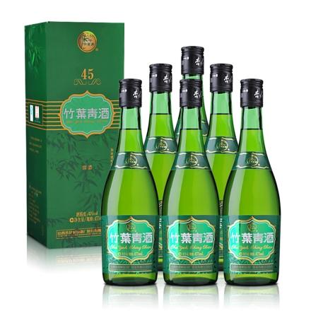 45°牧童竹叶青475ml(6瓶装)