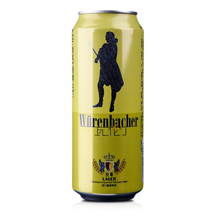 德国瓦伦丁拉格啤酒500ml