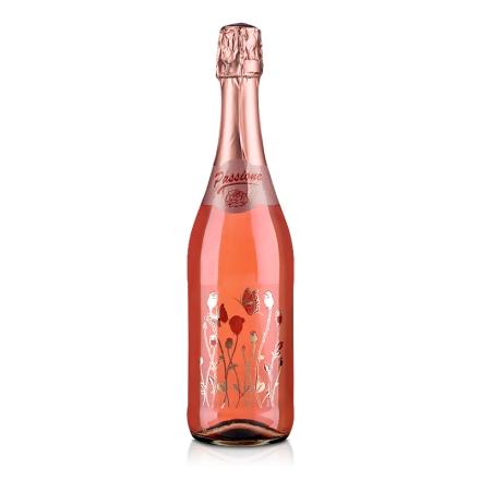 意大利激情飞扬玫瑰红低醇起泡葡萄酒750ml