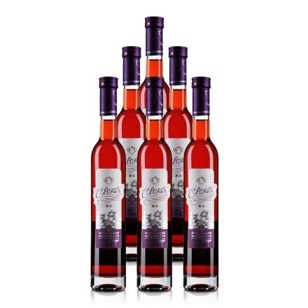 10°五粮液集团CLORIS青梅果酒(玫瑰)375ml(6瓶装)