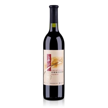 12.5°长城红酒红色庄园干红葡萄酒750ml