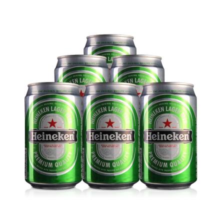 喜力啤酒330ml(6瓶装)