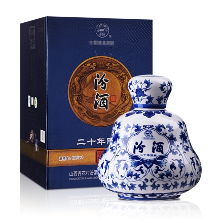 【老酒】60°汾酒20年收藏酒3000ml
