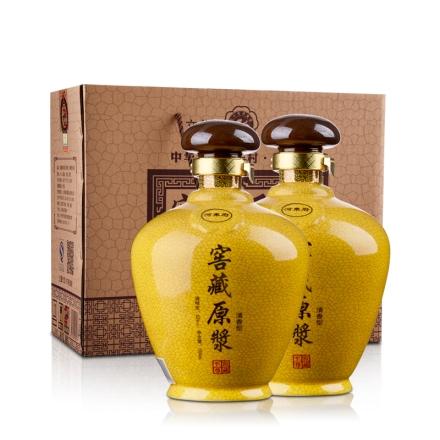 53°杏花窖藏原浆酒(双子星)1500ml*2