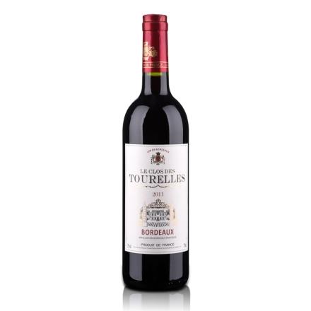 法国杜莱乐2011干红葡萄酒750ml