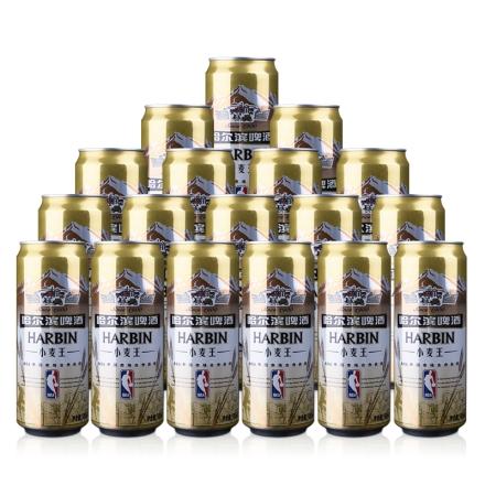 哈尔滨小麦王啤酒500ml*18