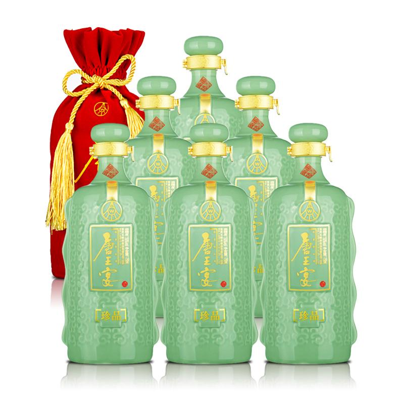 52°五粮液(股份)唐王宴珍品750ml(6瓶装)