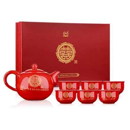 泸州老窖双喜茶具(乐享)