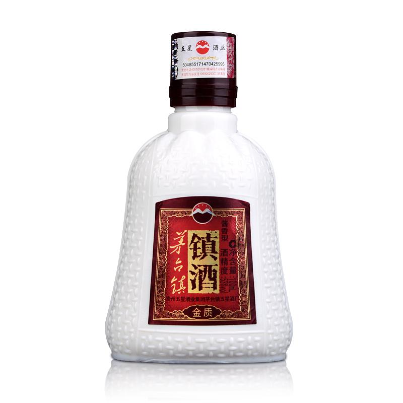 53°贵州五星茅台镇镇酒100ml(乐享)