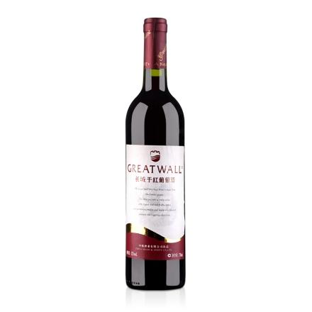 中国红酒华夏长城金飘带干红葡萄酒750ml