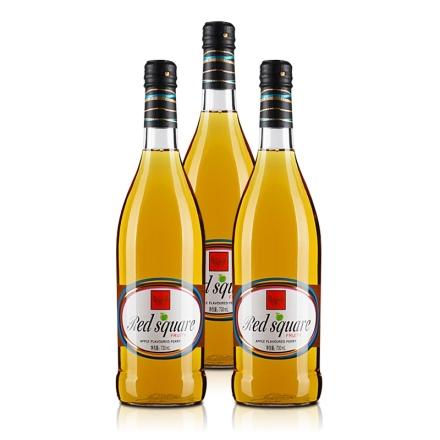 7° 红广场 苹果梨酒(配制酒)730ml(3瓶装)
