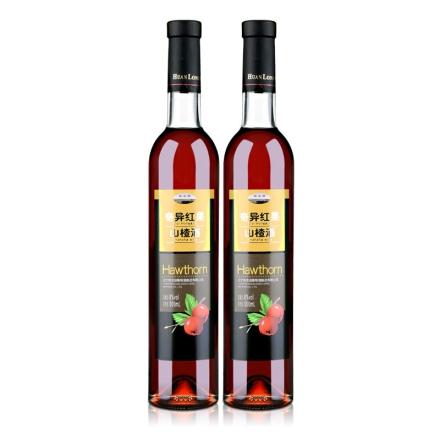8°桓龙湖奇异红果山楂酒500ml(双瓶装)