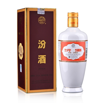 【清仓】53°瓷瓶汾酒礼盒(出口型)500ml