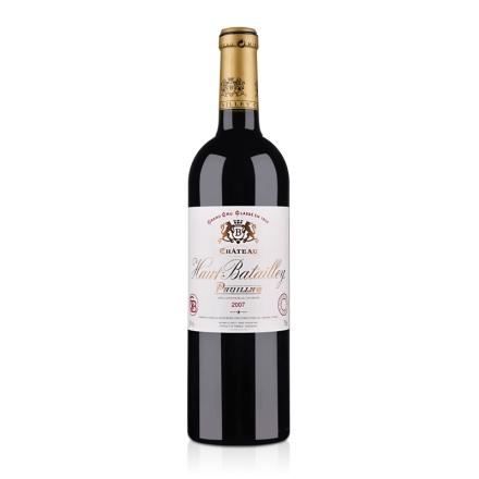 (列级庄·名庄正牌)法国奥巴特利庄园2007干红葡萄酒750ml(又名:奥班塔丽)